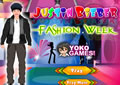 justin bieber fashion week