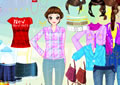 colorful clothing dressup